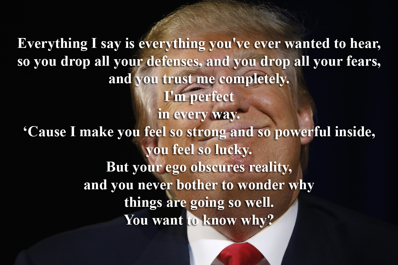 my five favorite songs about donald trump liar by rollins band as it applies to donald trump the song itself